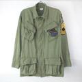 ジャングルファティーグ シャツ ジャケット OD (XSR) リペア