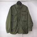 M-65 フィールドジャケット アルミジップ セカンド グレーライナー U.S.ARMY  (SS)