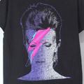 (M) デヴィッドボウイ ALADDIN SANE Tシャツ(新品)【メール便可】