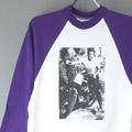 スティーブマックイーン フォト ベースボール Tシャツ アメリカ製 デッドストック【メール便可】