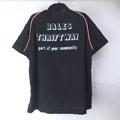 ヒルトン Hilton ボーリングシャツ BLK