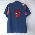 ヒルトン Hilton ボーリングシャツ NVY