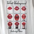 (L) ヴェルヴェットアンダーグラウンド フィーチャリング ニコ Tシャツ (新品) 【メール便可】