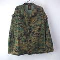 USMC ウッドランドマーパット カモ ミリタリーシャツジャケット(SS) 古着