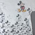 ミッキーマウス WHT Tシャツ  古着【メール便可】