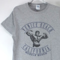 VENICE BEACH CA MUSCLE BEACH Tシャツ 古着【メール便可】