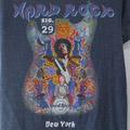 ジミヘンドリックス Hard Rock Cafe シグネーチャー 29 Tシャツ 古着【メール便可】