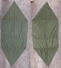 米軍 パップテント ハーフシェルター テント シート 1枚 #1