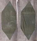 米軍 パップテント ハーフシェルター テント シート 1枚 #2