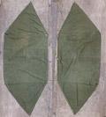 米軍 パップテント ハーフシェルター テント シート 1枚 #5