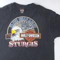 ハーレーダビッドソン Black Hills STURGIS Tシャツ USA 古着
