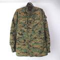 USMC ウッドランド マーパット カモ ミリタリーシャツジャケット(SS)