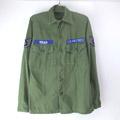 米軍 コットンサテン ユーティリティシャツ USAF 60's
