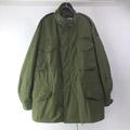 M-65 フィールドジャケット アルミジップ セカンド グレーライナー (LR)