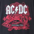 AC/DC ROCKN ROLL TRAIN Tシャツ 古着 【メール便送料無料】