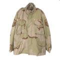 M-65 フィールドジャケット 3カラー デザートカモ (MS)