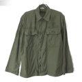 米軍 コットンサテン ユーティリティシャツ オールドタイプ