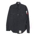 米軍 U.S.NAVY ブラックシャツ