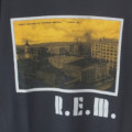 (L) R.E.M. ATHENS POST CARD  Tシャツ (新品)【メール便送料無料】
