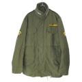 M-65 フィールドジャケット セカンド アルミジップ SR