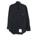 米軍 U.S.NAVY ブラックシャツ 15.1/2x31SL