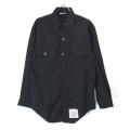 米軍 U.S.NAVY ブラックシャツ 15.1/2x31