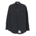 米軍 U.S.NAVY ブラックシャツ 16x32SL