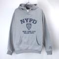 NYPD スウェットパーカー