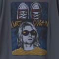 (L) カートコバーン (SNEAKERS) ニルヴァーナ  Tシャツ (新品)【メール便送料無料】