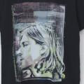 (M) カートコバーン (COLOR COLLAGE) ニルヴァーナ  Tシャツ(新品)【メール便送料無料】