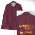 Cardinal ナイロンコーチジャケット Sun Deivls USA製