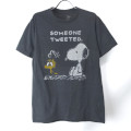 スヌーピーSOMEONE TWEETED Tシャツ  古着【メール便可】