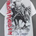 (M) アイアンメイデン OVERSIZED TROOPER Tシャツ (新品) 【メール便送料無料】