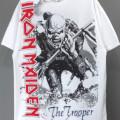 (L) アイアンメイデン OVERSIZED TROOPER Tシャツ (新品) 【メール便送料無料】