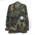 (XSR) AFJROTC ウッドランドカモ TRUE SPEC BDU シャツジャケット
