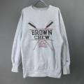 チャンピオン スウェット リバースウィーブ BROWN CREW