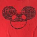 デッドマウス DEADMAU5 RED Tシャツ 古着【メール便送料無料】