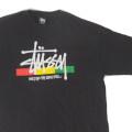 ステューシー stussy BUILT FOR LONG HAUL BLK Tシャツ 古着【メール便可】