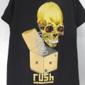 (M) ラッシュ PUSHEAD ROLL THE BONES Tシャツ (新品)