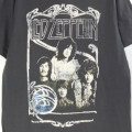 (L) レッドツェッペリン1969 BAND PROMO PHOTO Tシャツ (新品)