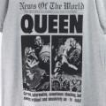 (M) QUEEN クイーン NEWS OF THE WORLD 40th Tシャツ (新品)