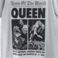 (L) QUEEN クイーン NEWS OF THE WORLD 40th  Tシャツ (新品)